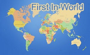 first in world