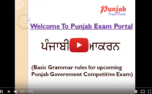 Punjab Govt  Exam Portal - For Online Preparation
